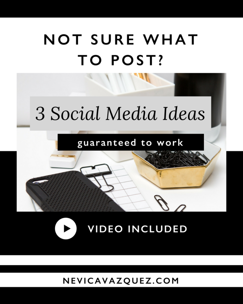 Not Sure What To Post On Social Media- 3 Ideas Guaranteed To Work